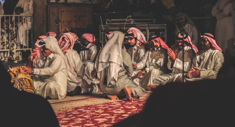 Música árabe - História
