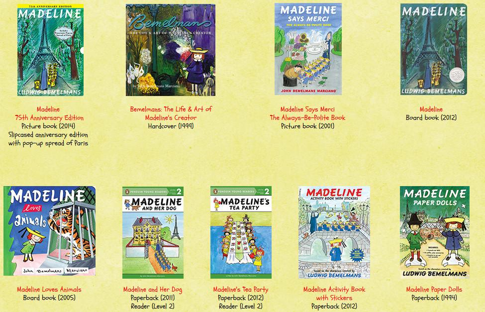 Livros Madeline - 2