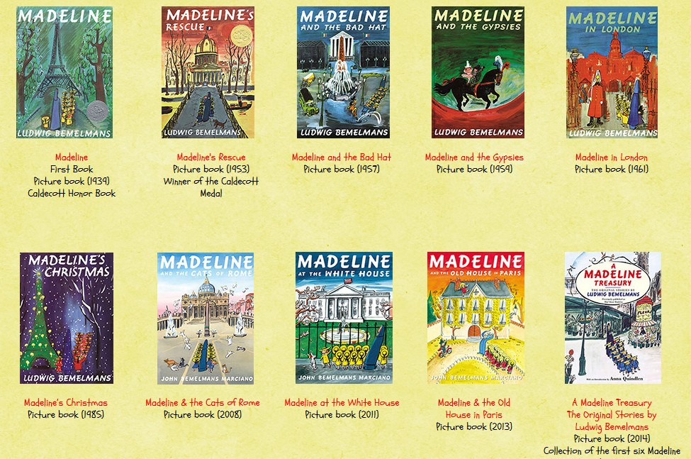 livros madeline - Madeline