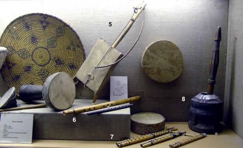 Instrumentos musicais árabe