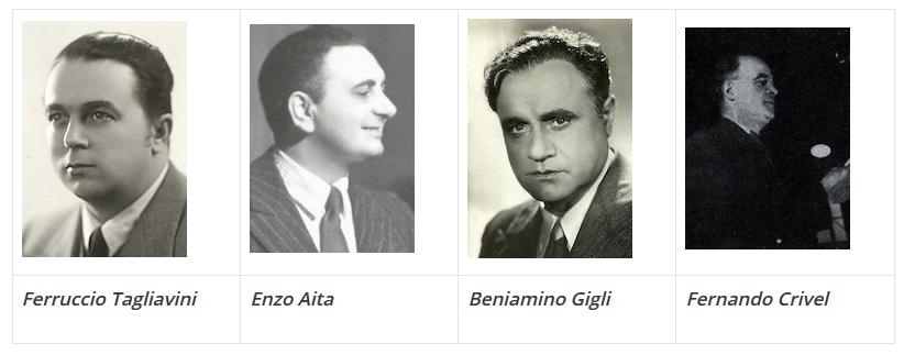 Cantores italianos anos 50