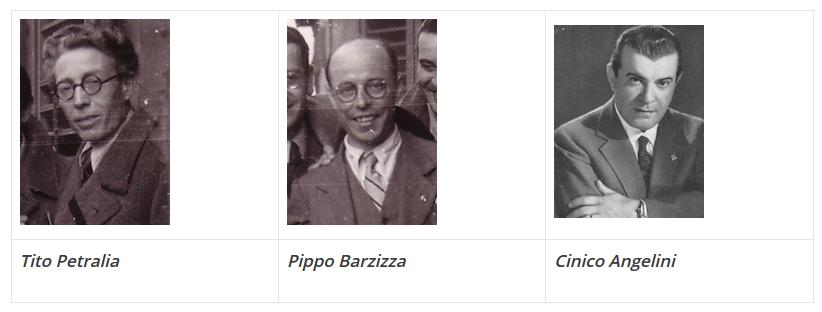 Cantores italianos anos 40