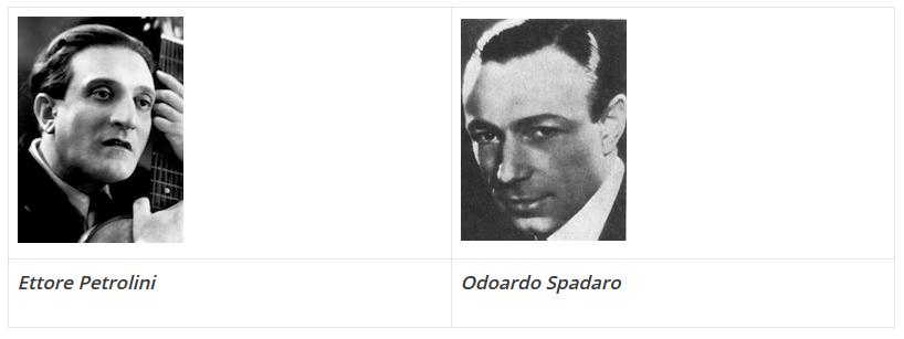 Cantores italianos anos 1925
