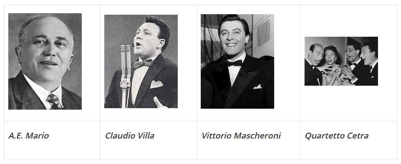 Música italiana anos 20,30,40