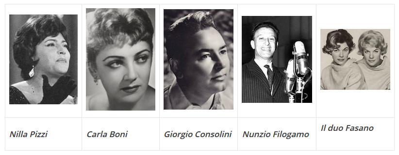 Música italiana anos 50