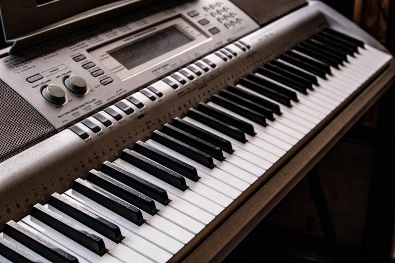 Comece com teclado