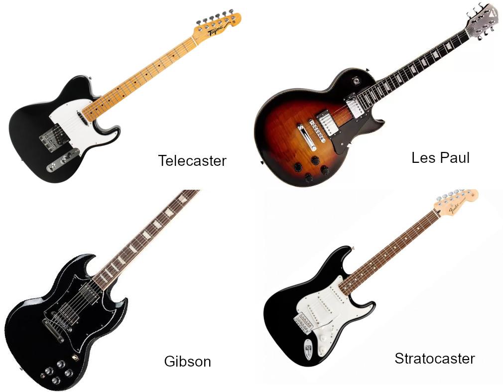 Guitarra elétrica - Melhores.
