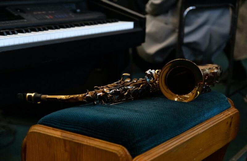 Instrumentos musicais clássico.