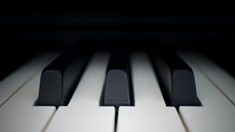 Limpe as teclas do piano