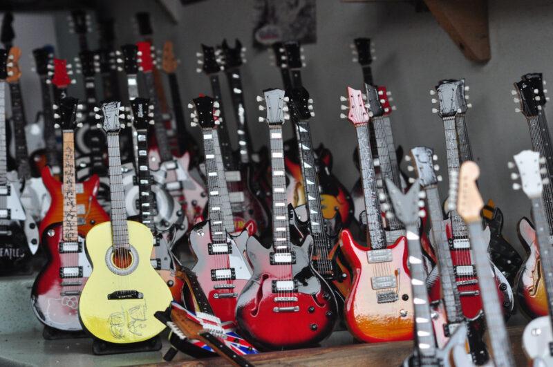 Loja de guitarra