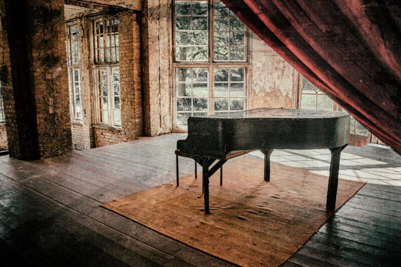 Como mover um piano.