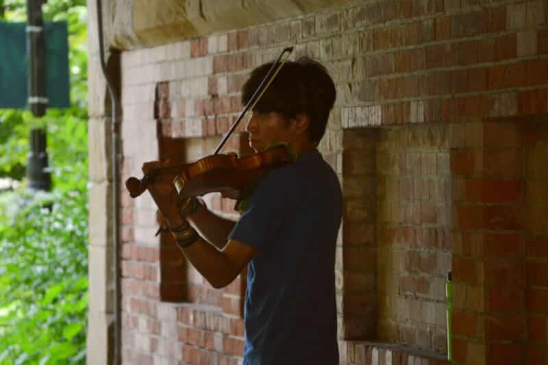 Aprender a tocar violino sozinho