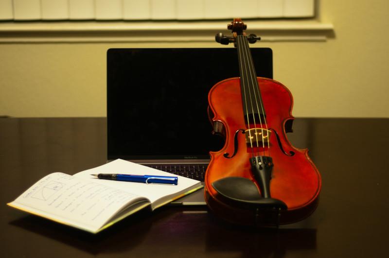 Aulas de violino online.