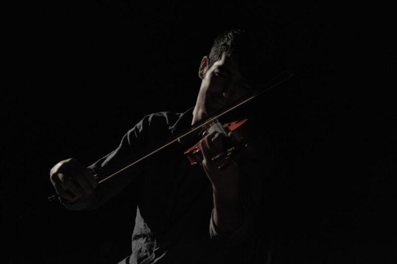 Desejo de tocar violino.