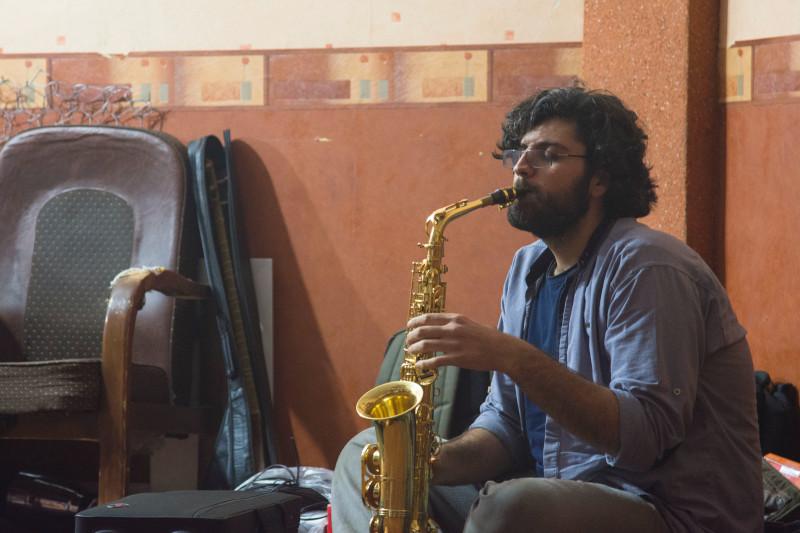 Afinação de saxofone